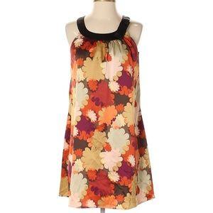 BCBGMAXAZRIA Casual Fall Flare Floral Print Dress